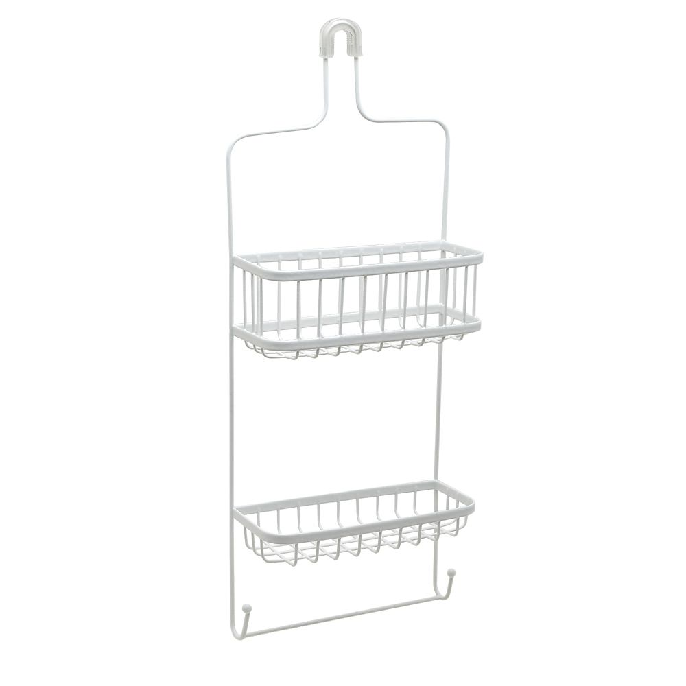 Premier Shower Head Caddy - White